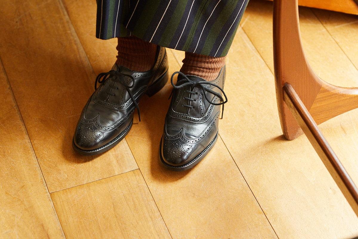 ジョセフチーニーの革靴