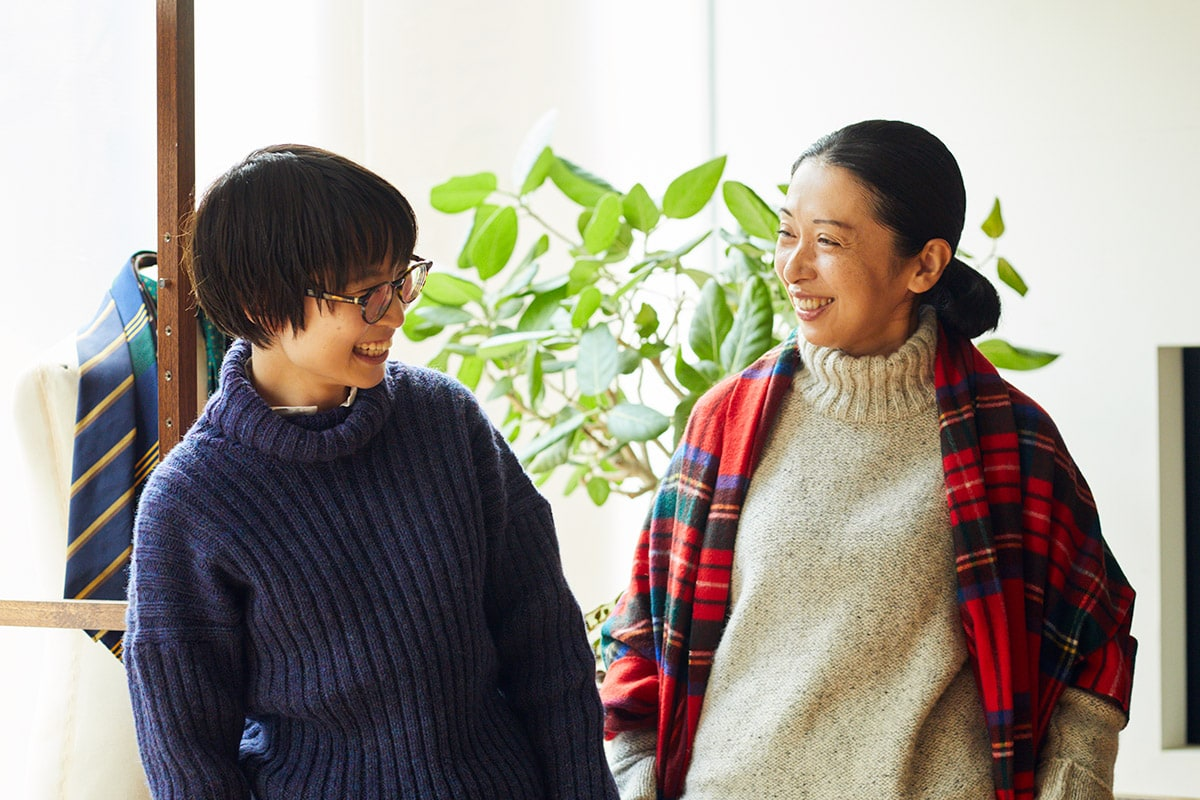 「Daja」板倉直子さん×「BRITISH MADE」尾山優恵さん