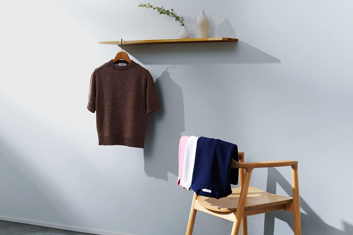 macalastair マカラスター 2020年春夏 スモックニットTシャツ